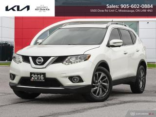 Used 2016 Nissan Rogue SL Premium CERTIFIED // AWD // ROOF // LEATHER for sale in Mississauga, ON