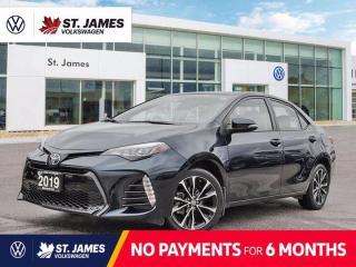 Used 2019 Toyota Corolla SE, LOCAL MANITOBA VEHICLE, POWER SUNROOF, HEATED SEATS for sale in Winnipeg, MB