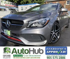 Used 2017 Mercedes-Benz CLA-Class CLA250/4MATIC/Turbo/Premium/LED Lights/AMG Sport Performance package! for sale in Hamilton, ON