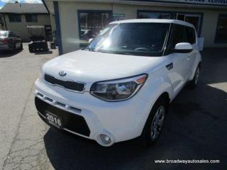 Used 2016 Kia Soul FUEL EFFICIENT GDI-EDITION 5 PASSENGER 1.6L - DOHC.. ECO-MODE-SELECT-PACKAGE.. BLUETOOTH SYSTEM.. AUX/USB INPUT.. KEYLESS ENTRY.. for sale in Bradford, ON