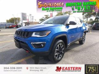 New 2021 Jeep Compass Trailhawk Elite | Panoramic Sunroof | Backup Camera | for sale in Winnipeg, MB
