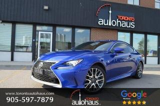 Used 2017 Lexus RC 300 F-SPORT I NAVI I BSM I NO ACCIDENTS for sale in Concord, ON