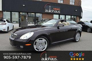 Used 2003 Lexus SC 430 CONVERTIBLE I LEATHER I NAVIGATION for sale in Concord, ON