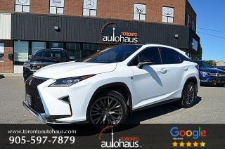 Used 2019 Lexus RX 350 F-SPORT 3 I PANORAMIC I RED INTERIOR for sale in Concord, ON