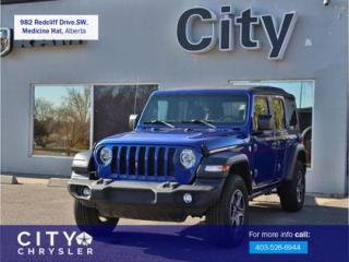 Used 2019 Jeep Wrangler UNLIMITED SPORT for sale in Medicine Hat, AB