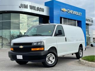 Used 2020 Chevrolet Express 2500 Work Van V6 CARGO AIR AUTO WIN/LOCKS REAR CAM DAILY RENTAL for sale in Orillia, ON