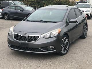 Used 2014 Kia Forte EX with Sunroof for sale in Bolton, ON