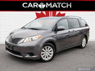 Used 2016 Toyota Sienna LE  AWD / AUTO / ALLOY'S / NO ACCIDENTS for sale in Cambridge, ON