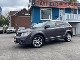 Used 2016 Dodge Journey R/T AWD **Leather/Remote Start** for sale in Barrie, ON