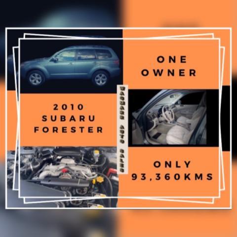 2010 Subaru Forester Ltd.