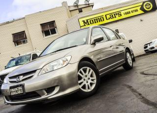 Used 2005 Honda Civic CERTIFIED + Fuel Efficient + RELIABLE! for sale in St. Catharines, ON