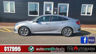 Used 2017 Honda Civic LX for sale in Saint John, NB