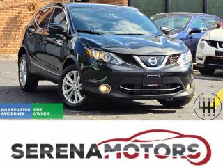 Used 2018 Nissan Qashqai SV | MANUAL | B. CAM | ONE OWNER | NO ACCIDENTS for sale in Mississauga, ON