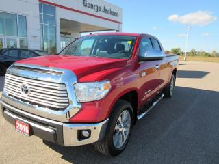 Used 2016 Toyota Tundra Limited  for sale in Renfrew, ON