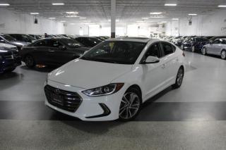 Used 2018 Hyundai Elantra SEL I LEATHER I SUNROOF I REAR CAMERA I CARPLAY I BLIND SPOT for sale in Mississauga, ON