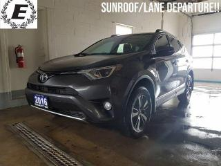 Used 2016 Toyota RAV4 XLE  SUNROOF/LANE DEPARTURE!! for sale in Barrie, ON