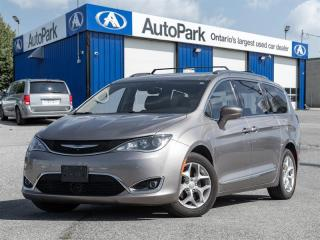 Used 2017 Chrysler Pacifica Touring-L Plus Touring NAV|BACKUP CAM|REAR TV|LEATHER|HEATED SEATS for sale in Georgetown, ON