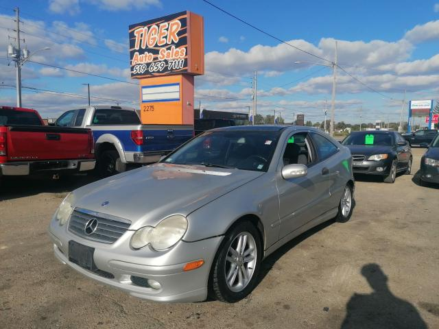 2002 Mercedes-Benz C-Class SPORT*MANUAL*ONLY 126KMS*AS IS SPECIAL