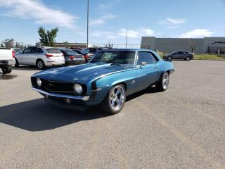 Used 1969 Chevrolet Camaro V8 | Coupe Hardtop I $0 DOWN-EVERYONE APPROVED! for sale in Calgary, AB