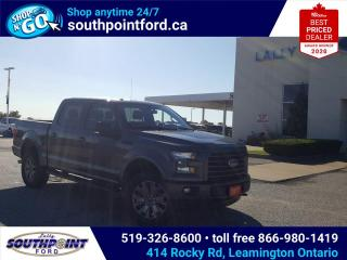 Used 2017 Ford F-150 XLT SPECIAL EDITION PKG|NAV|HTD SEATS|TOW PKG|REMOTE START|CRUISE|TAILGATE STEP for sale in Leamington, ON