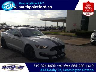 Used 2016 Ford Mustang Shelby GT350 GT350 5.2L NAVIGATION HTD & COOLED SEATS  for sale in Leamington, ON