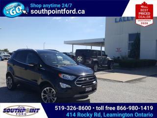 Used 2020 Ford EcoSport Titanium TITANIUM AWD NAV SUNROOF CRUISE REMOTE START for sale in Leamington, ON