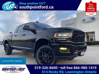 Used 2020 RAM 2500 Limited LIMITED|4X4|NAV|HTD & COOLED SEATS|CRUISE CONTROL|MOONROOF|REMOTE START| for sale in Leamington, ON