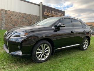 Used 2015 Lexus RX 350 SPORTDESIGN NAVI REAR VIEW CAM BSM for sale in North York, ON