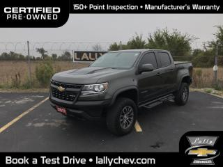 Used 2017 Chevrolet Colorado ZR2**LOCAL TRADE**REMOTE START**NAVIGATION**BOSE S for sale in Tilbury, ON
