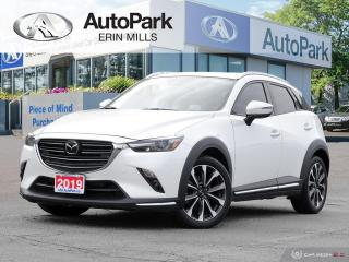 Used 2019 Mazda CX-3 GT AWD, NAVIGATION, HEADS UP DISPLAY, SUNROOF, HEATED SEATS for sale in Mississauga, ON