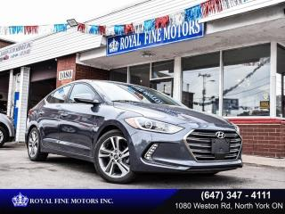 Used 2018 Hyundai Elantra Limited Auto for sale in Toronto, ON