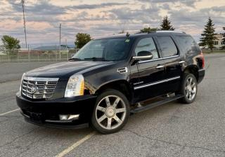 Used 2011 Cadillac Escalade Premium Navigation /DVD/Sunroof/7Pass for sale in North York, ON