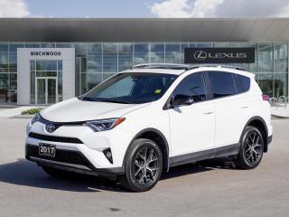 Used 2017 Toyota RAV4 SE AWD | Moonroof | Navigation for sale in Winnipeg, MB
