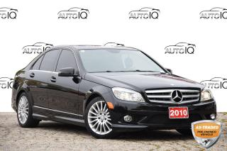 Used 2010 Mercedes-Benz C-Class LOW KMS | AWD | SUNROOF | BLUETOOTH for sale in Kitchener, ON