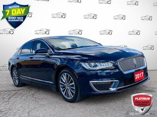Used 2017 Lincoln MKZ Hybrid Select Hybrid Leather/Navi/Alloy Wheels for sale in St Thomas, ON