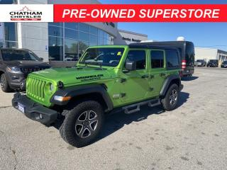 Used 2020 Jeep Wrangler UNLIMITED SPORT for sale in Chatham, ON