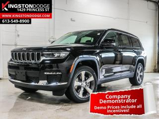 Used 2021 Jeep Grand Cherokee L Limited | Tow | 360 Camera | Sunroof for sale in Kingston, ON