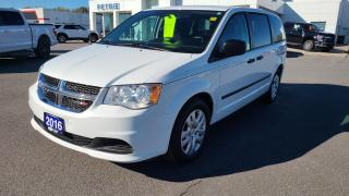 Used 2016 Dodge Grand Caravan Canada Value Package - for sale in Kingston, ON