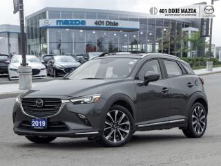 Used 2019 Mazda CX-3 GT 0.99% FINANCE AVAILABLE  ONE OWNER  NO ACCIDENT for sale in Mississauga, ON
