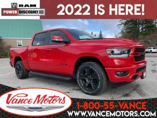 New 2022 RAM 1500 Sport 4x4...V8*LEATHER*COOLED SEATS! for sale in Bancroft, ON