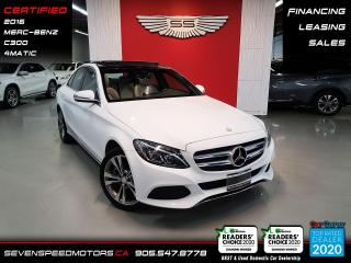 Used 2016 Mercedes-Benz C-Class for sale in Oakville, ON