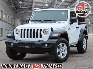 Used 2019 Jeep Wrangler Sport 4X4 for sale in Mississauga, ON