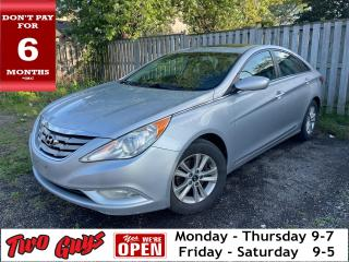 Used 2012 Hyundai Sonata GLS | CERTIFIED | Sunroof | Htd Cloth | for sale in St Catharines, ON