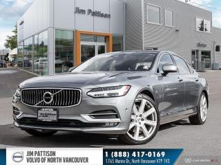 Used 2018 Volvo S90 T6 Inscription - LOCAL - ONE OWNER - LOW MILEAGE for sale in North Vancouver, BC