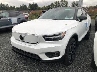 New 2022 Volvo XC40 Recharge Pure Electric P8 Ultimate for sale in Surrey, BC