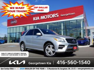 Used 2013 Mercedes-Benz ML-Class ML 350 BlueTEC | CLN CRFX | PANO ROOF | NAV | B/T for sale in Georgetown, ON
