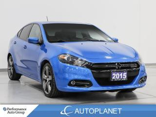 Used 2015 Dodge Dart GT, Sunroof, Heated Seats, Back Up Cam, Leather! for sale in Clarington, ON