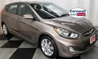 Used 2014 Hyundai Accent GLS - Clean CarFax, Flat Tow Package for sale in Cornwall, ON