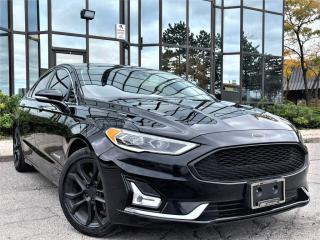 Used 2019 Ford Fusion Hybrid TITANIUM|ALLOYS|TINTED WINDOWS|SPOILER for sale in Brampton, ON