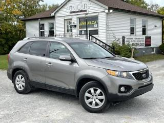 Used 2012 Kia Sorento No-Accidents AWD 4Cyl EX Leather Backup Cam Bluetooth for sale in Sutton, ON